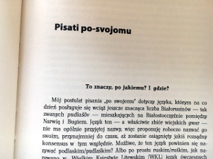 "View entire text » Jan Maksymiuk, 10 lat strony Svoja.org: od ""po-svojomu"" do ""po-pudlaśki"""